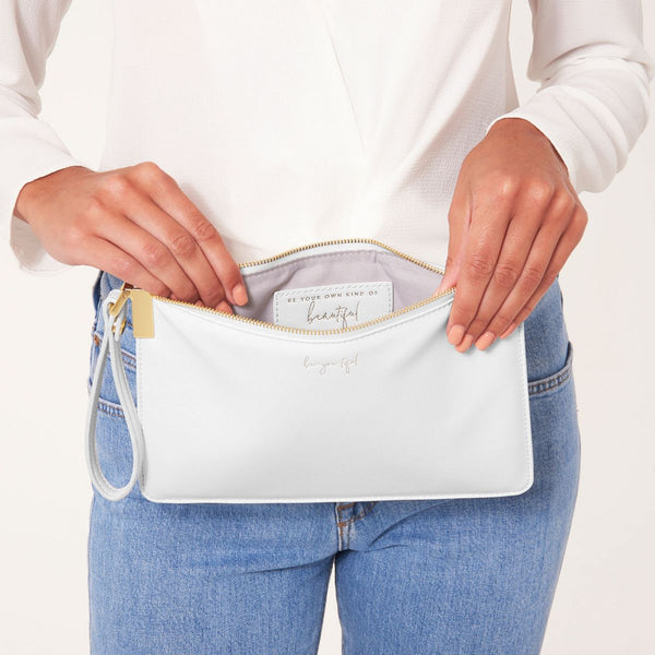 Katie loxton secret message pouch be your own kind of beautiful