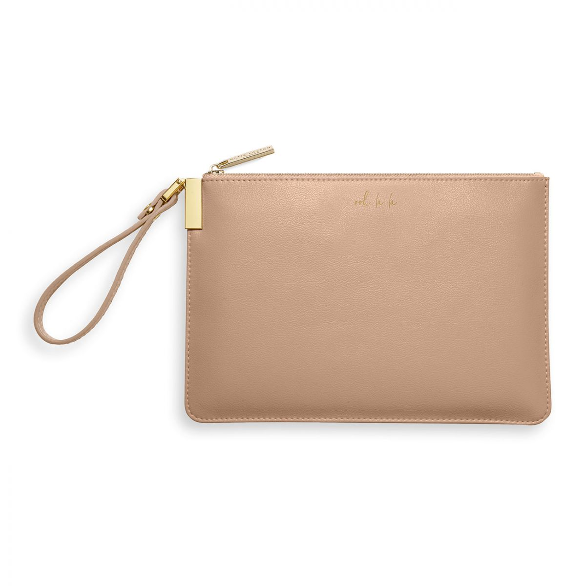 Katie loxton secret message pouch Ooh la la Taupe