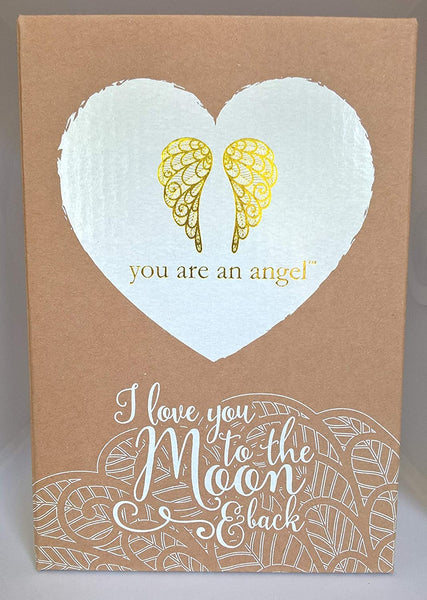 Angel Figurine - Love You to the Moon and Back