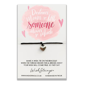 wishstrings wish bracelet distance means so little