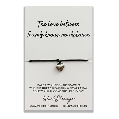 wishstrings wish bracelet love between friends knows no distance