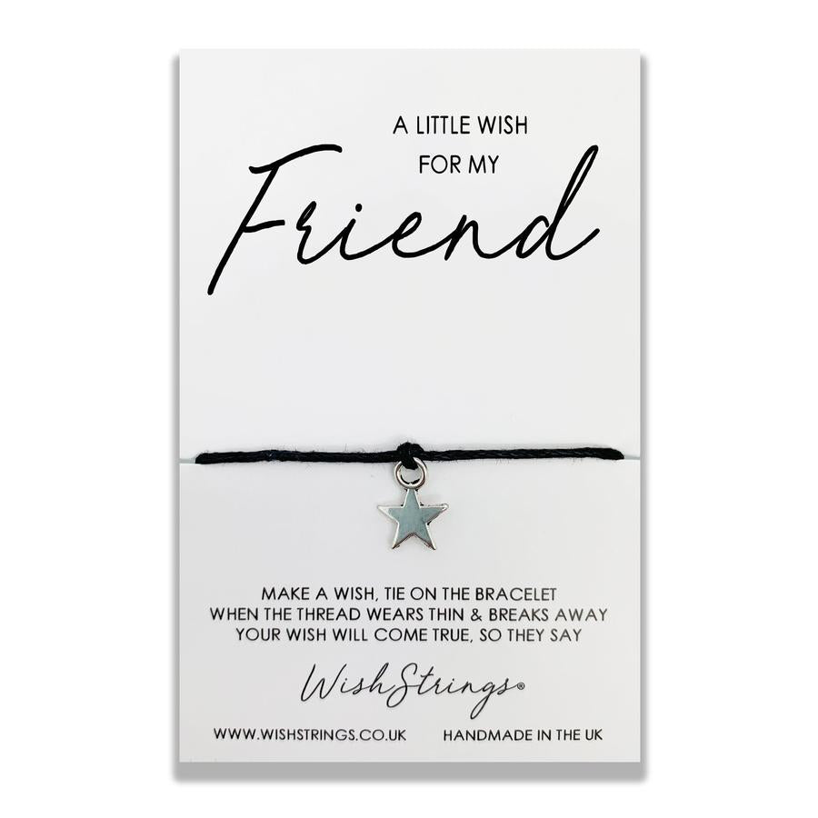 wishstrings wish bracelet friend