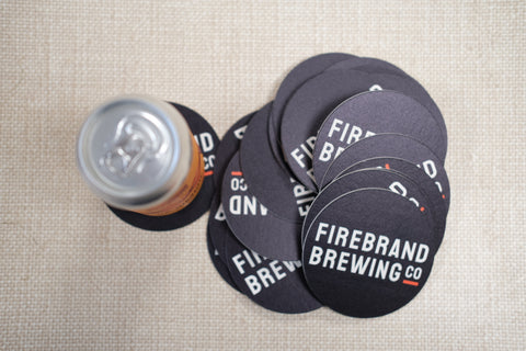 Firebrand Brewing Co Coasters