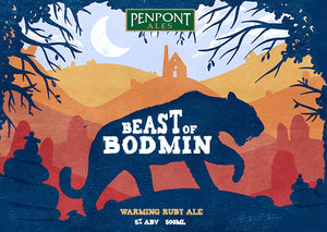 Beast of Bodmin Ruby Ale Firebrand Brewing Co