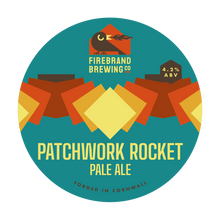 Load image into Gallery viewer, Patchwork Rocket Pale
