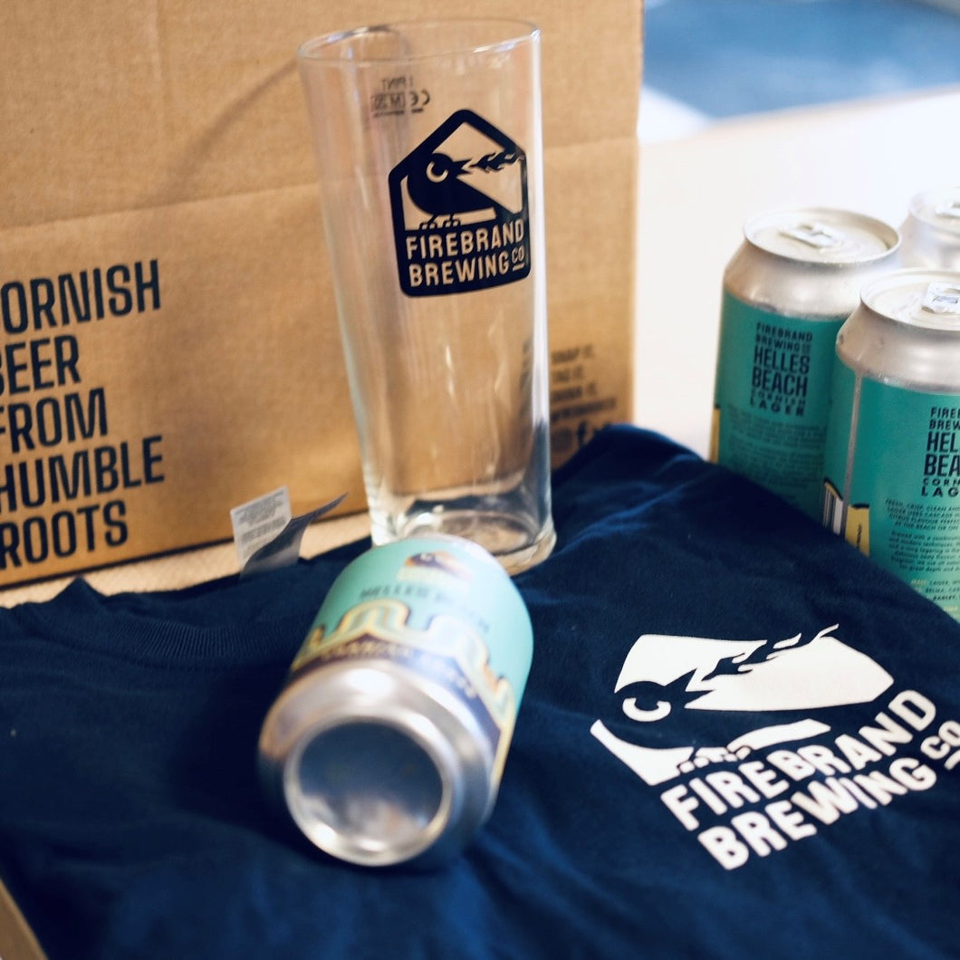 Helles Beach Cornish Lager Gift Set