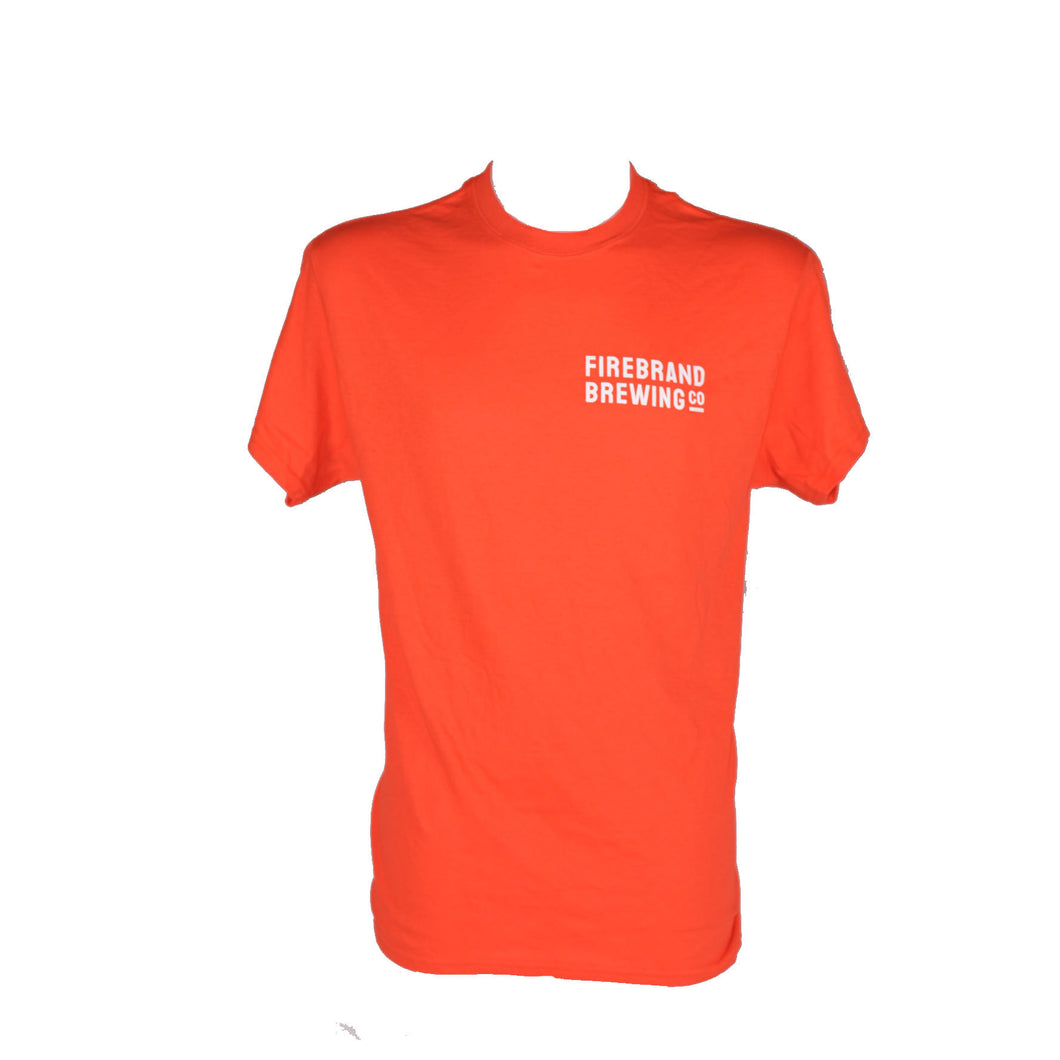 Firebrand Short Sleeve T-Shirt - Orange