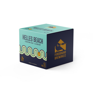 Helles Beach Cornish Lager