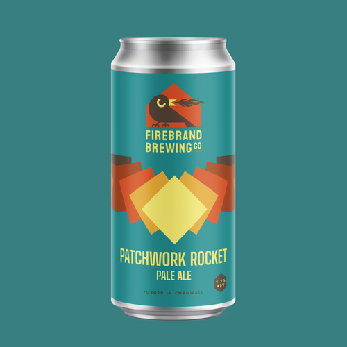 Patchwork Rocket Pale Beer Firebrand Brewing Co