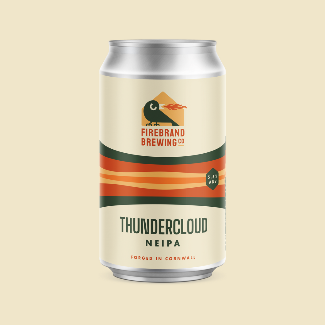 Thundercloud New England IPA Firebrand Brewing Co