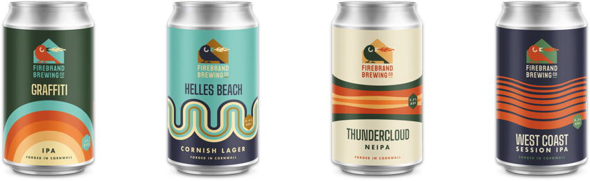 Firebrand Brewing Core Cans