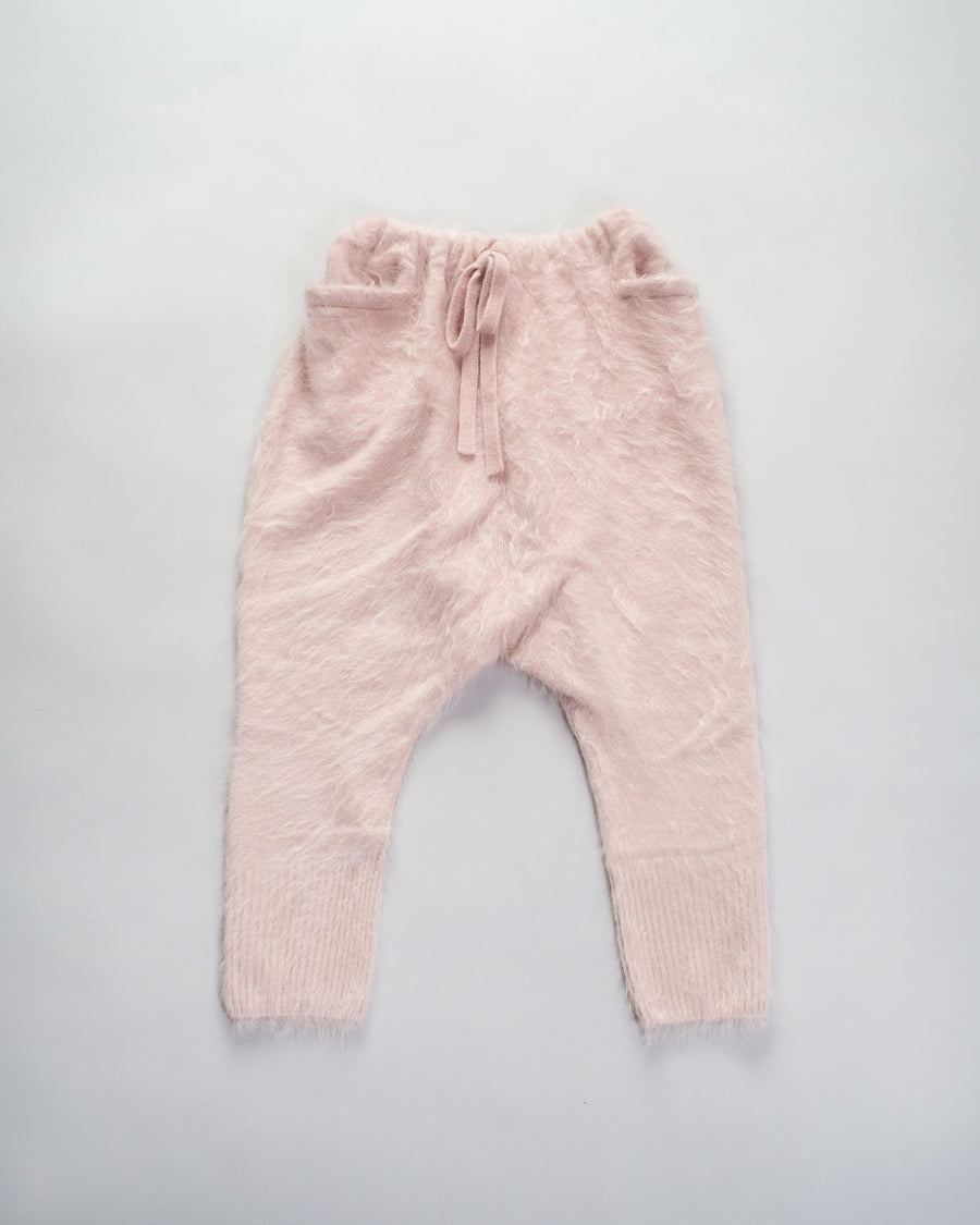 13203 12314 women's gasa japan brushed cashmere harem pants joggers sweatpants drawstring sweater in pink noodle stories