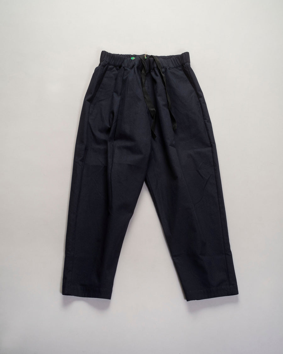 15FP96 casey casey women's women verger pant cotton pique navy noodle stories