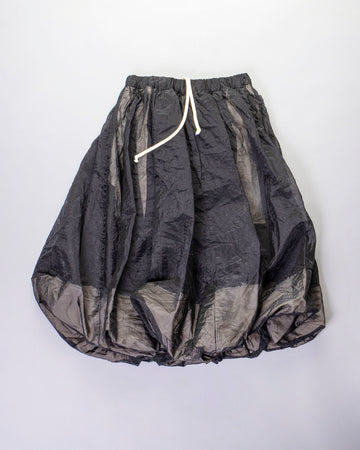twisted drawstring skirt