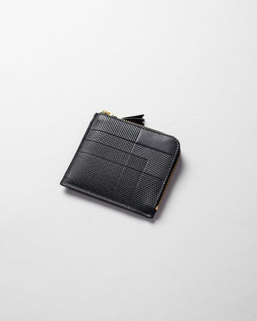 Intersection half zip wallet