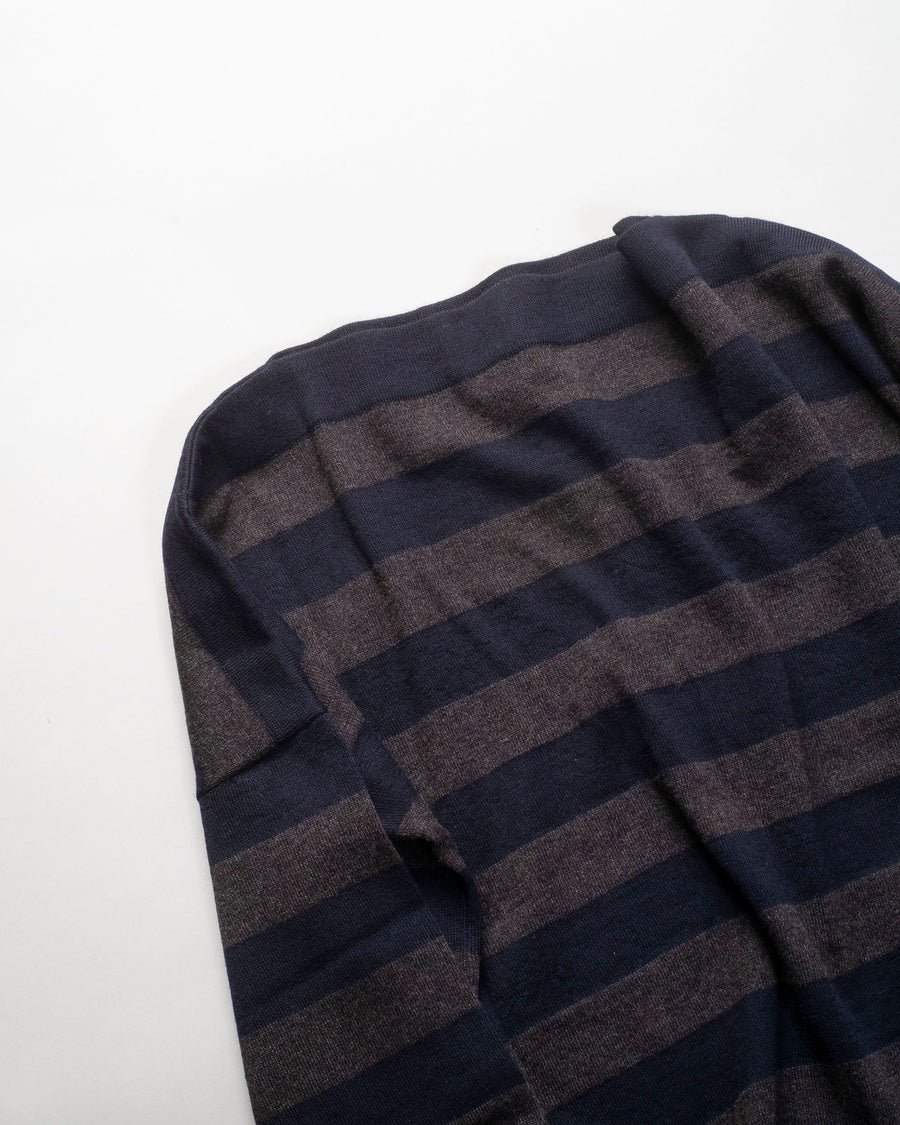 DANIELA, GREGIS, sweater, MB1CPRG4, merino, wool, boatneck, sweater, barchetta, knitted, classic, riga, 4, noodle, stories, wool, women's, navy, anthracite, grey,