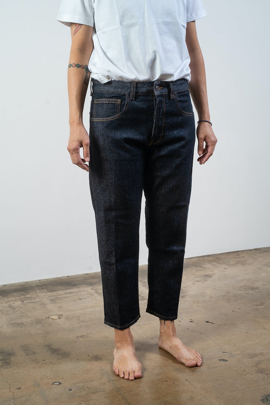 6397 shorty jean in selvedge rinse noodle stories