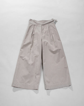 side belt pants