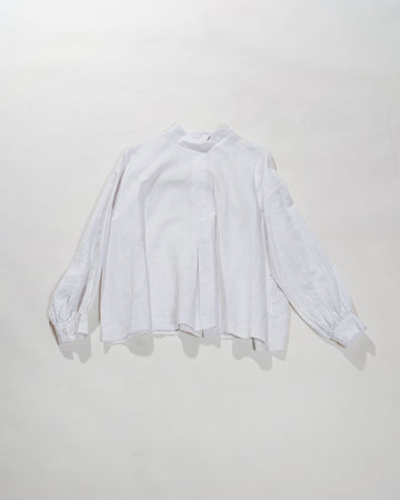 front box tuck blouse