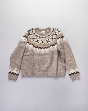 maelys fair isle sweater