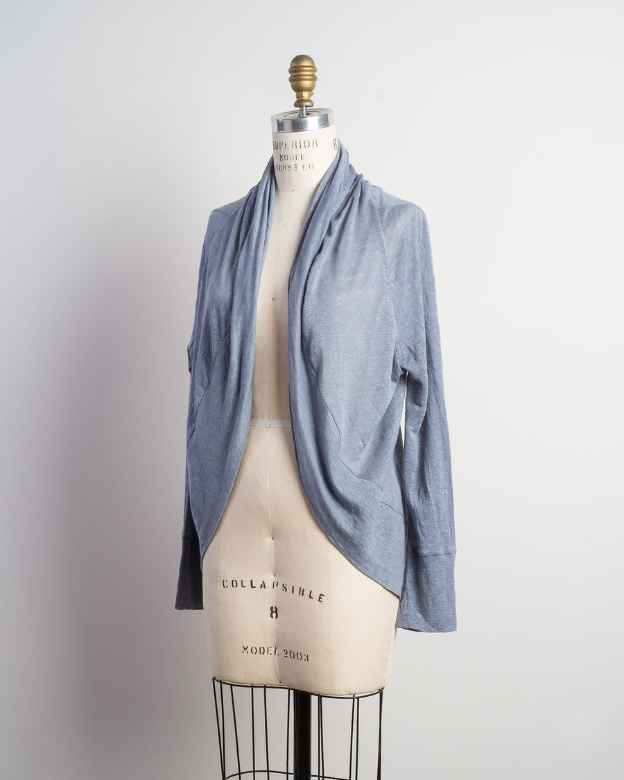 light linen cardigan