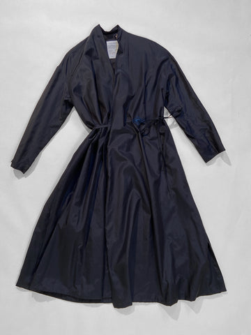 blanche robe coat