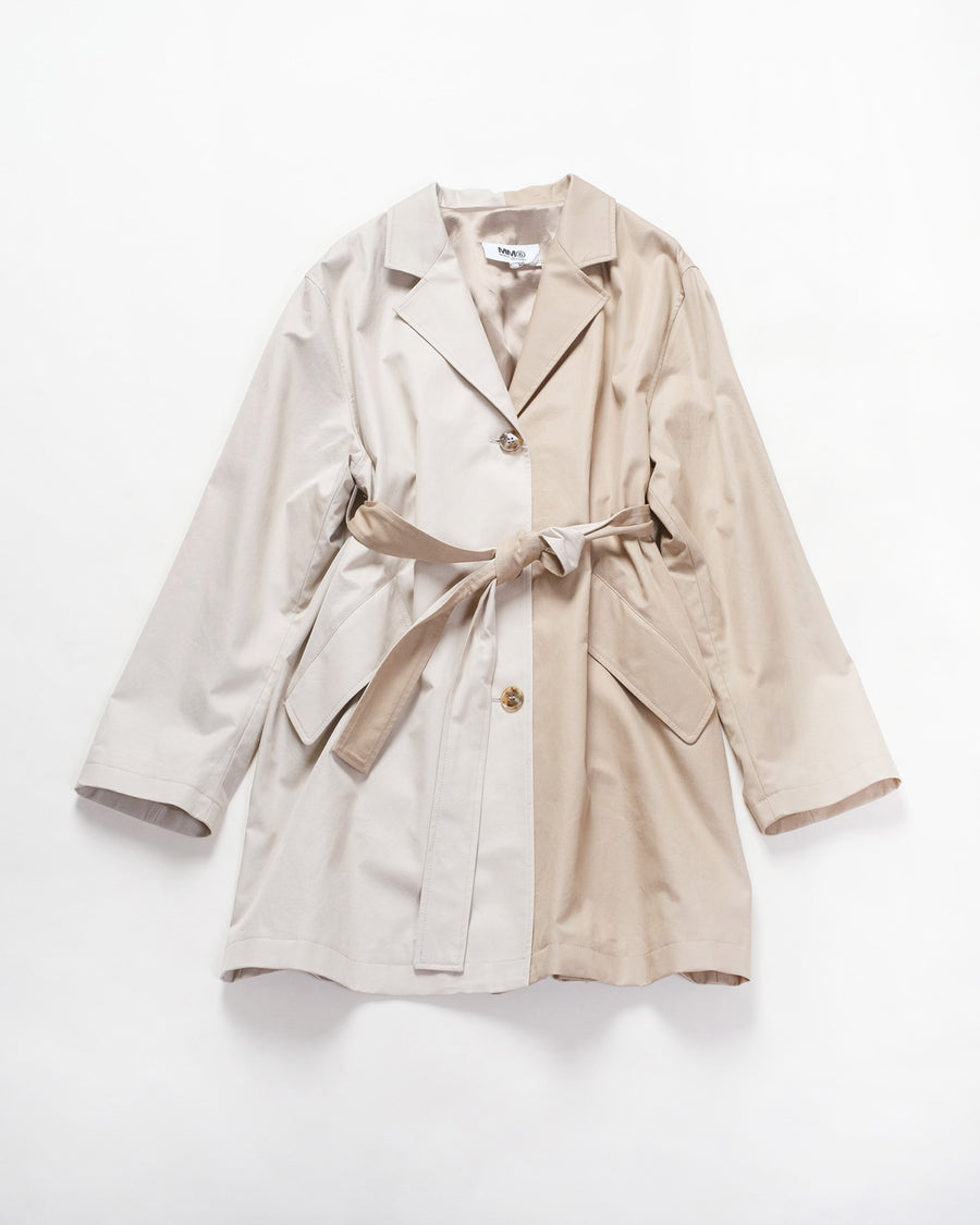 two-tone trench