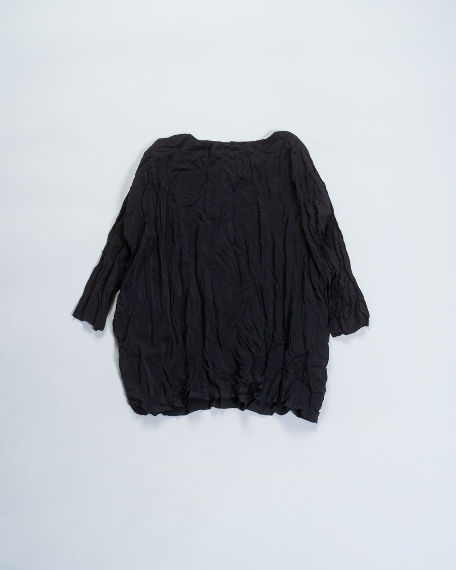 daniela gregis washed silk top