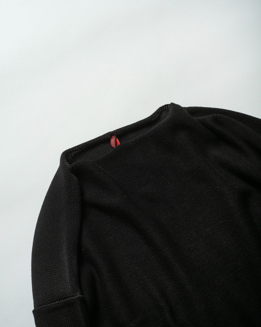 boatneck pocket sweater