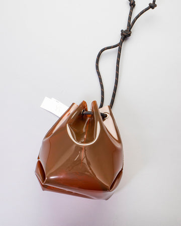 translucent shoulder bag