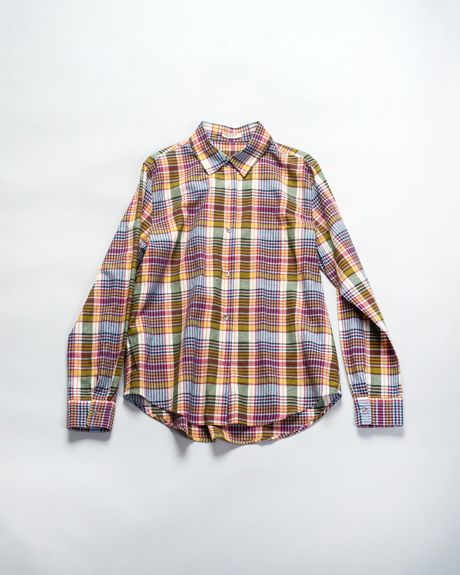 madras buttondown
