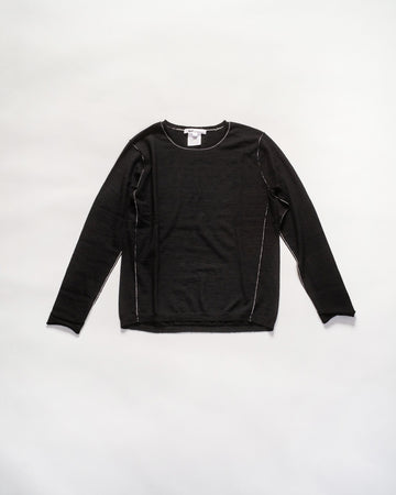 cashmere long sleeve baby tee