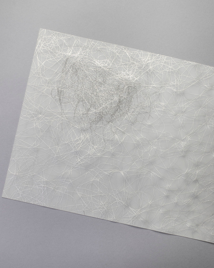 metallic thread placemat
