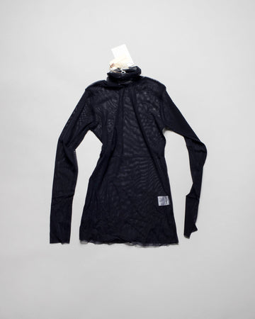 MT01N, antipast, mesh, shirt, turtle, neck, tee, noodle, stories, women's, navy,