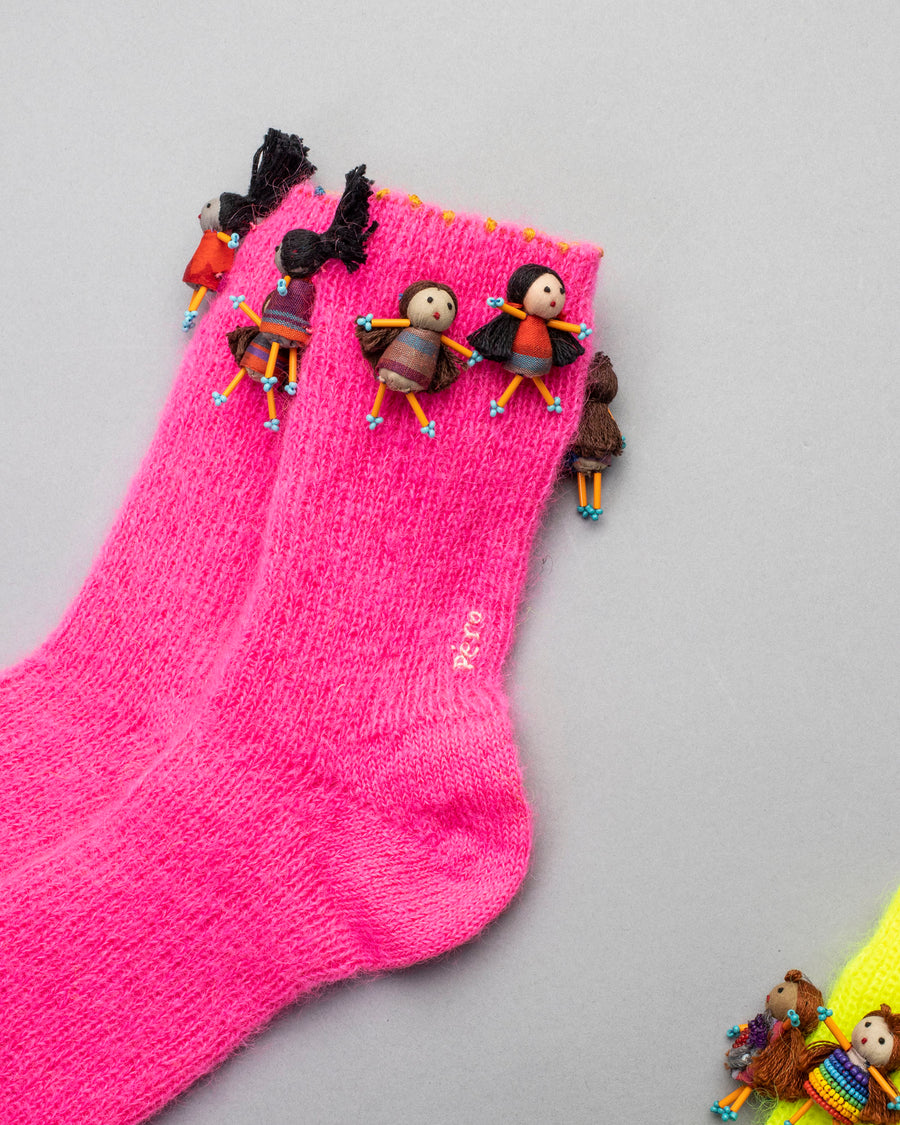 mini doll socks