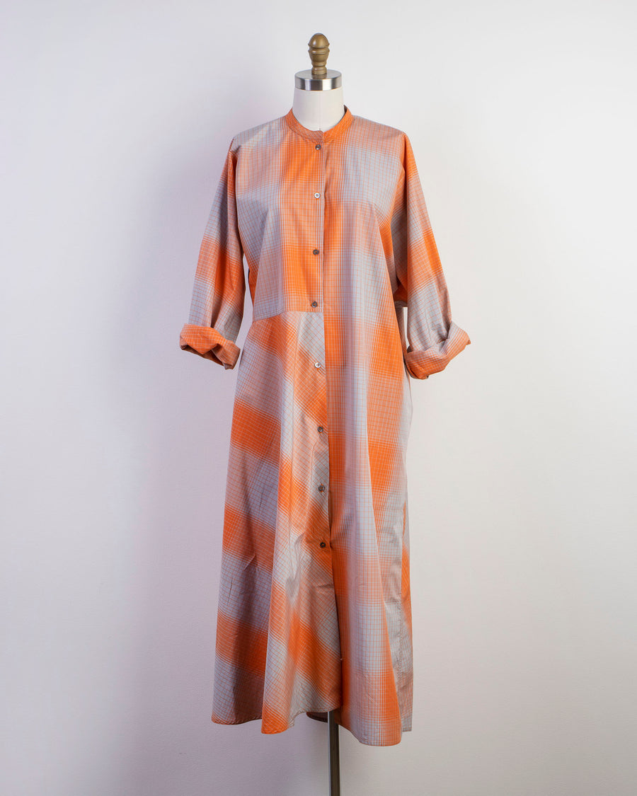 daphnis asymmetric shirtdress