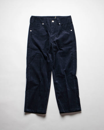 sofie, d'hoore, pants, noodle stories, women, pollock, corduroy, noodle, stories, women, women's, five, pocket, straight, dark, navy,