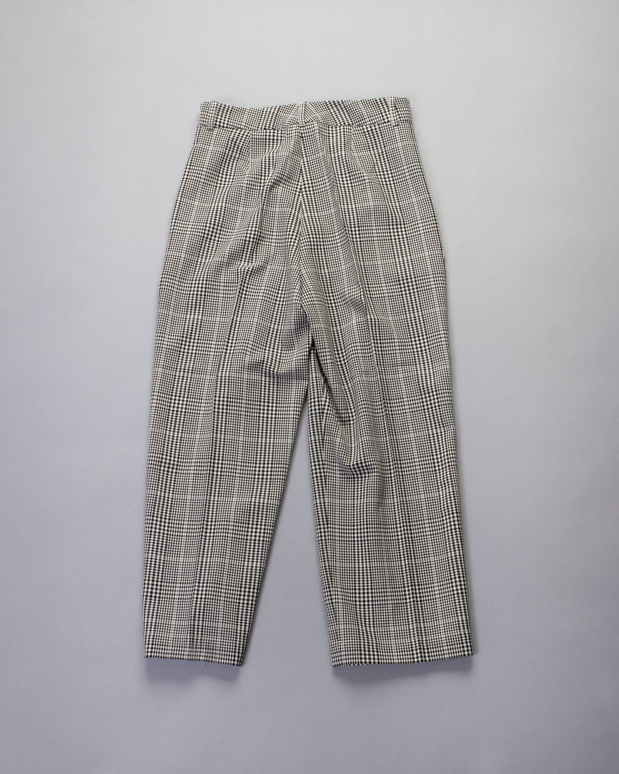 checked market trouser