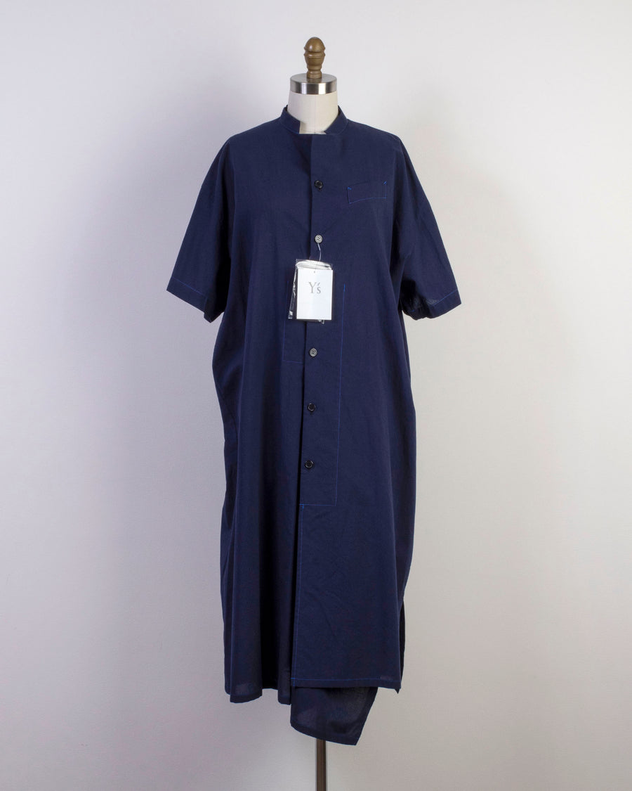 short sleeve shirtdress