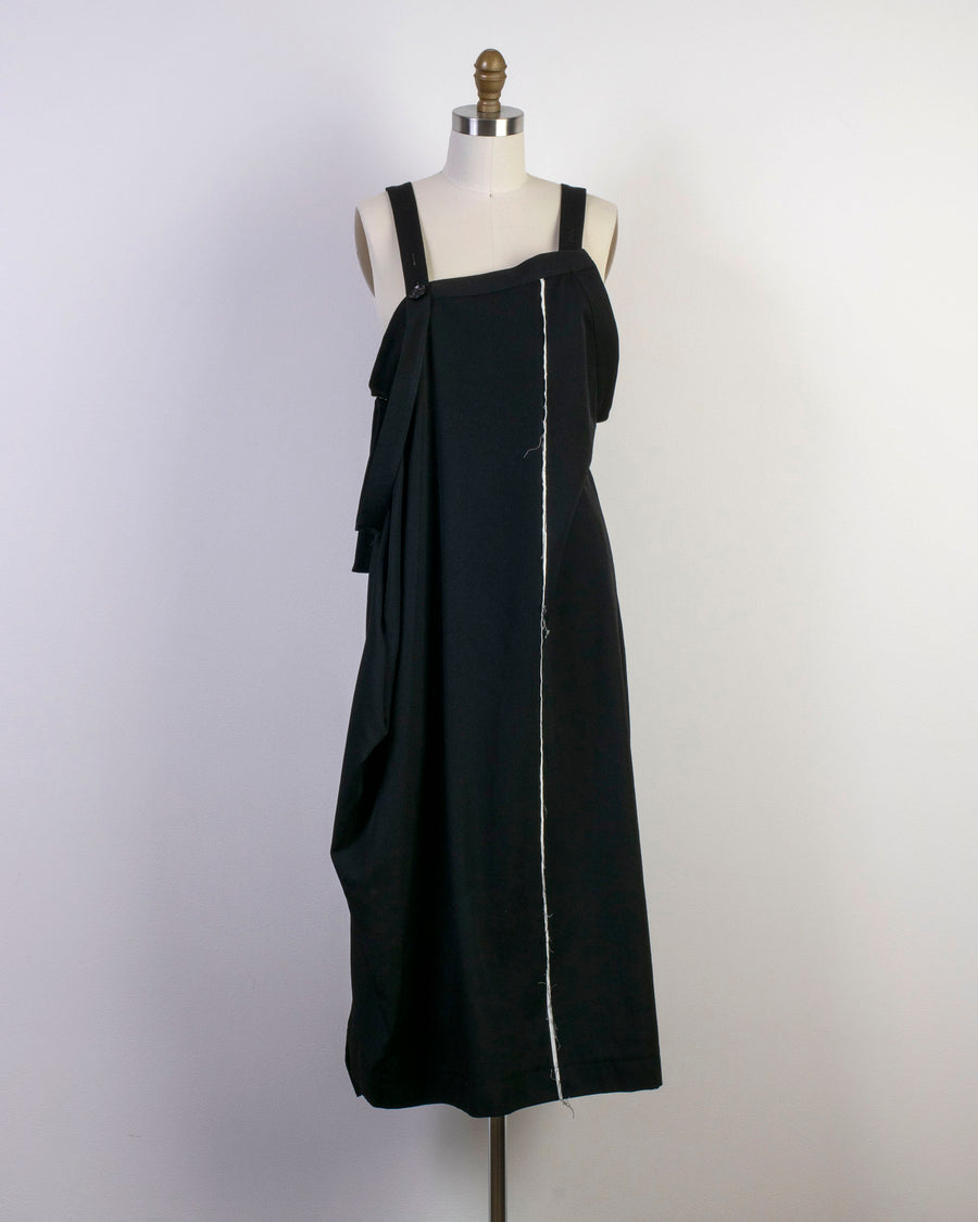 apron belt dress