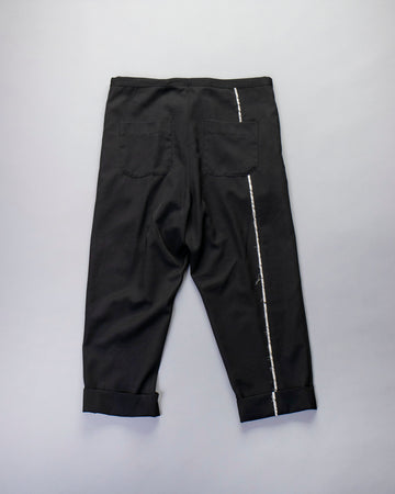 raw trim pants