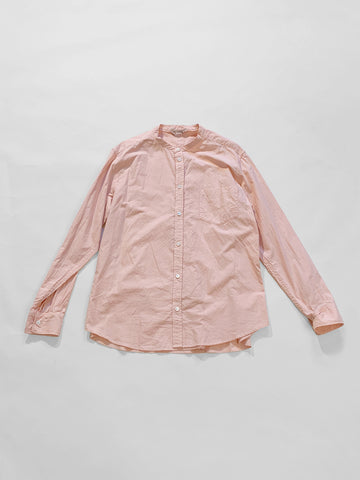arts & science no collar fake shirt in rose pink noodle stories