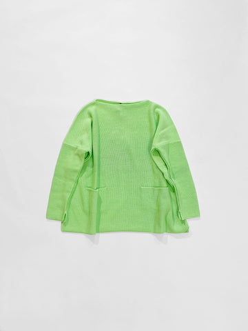 boatneck pocket sweater DANIELA GREGIS clothing