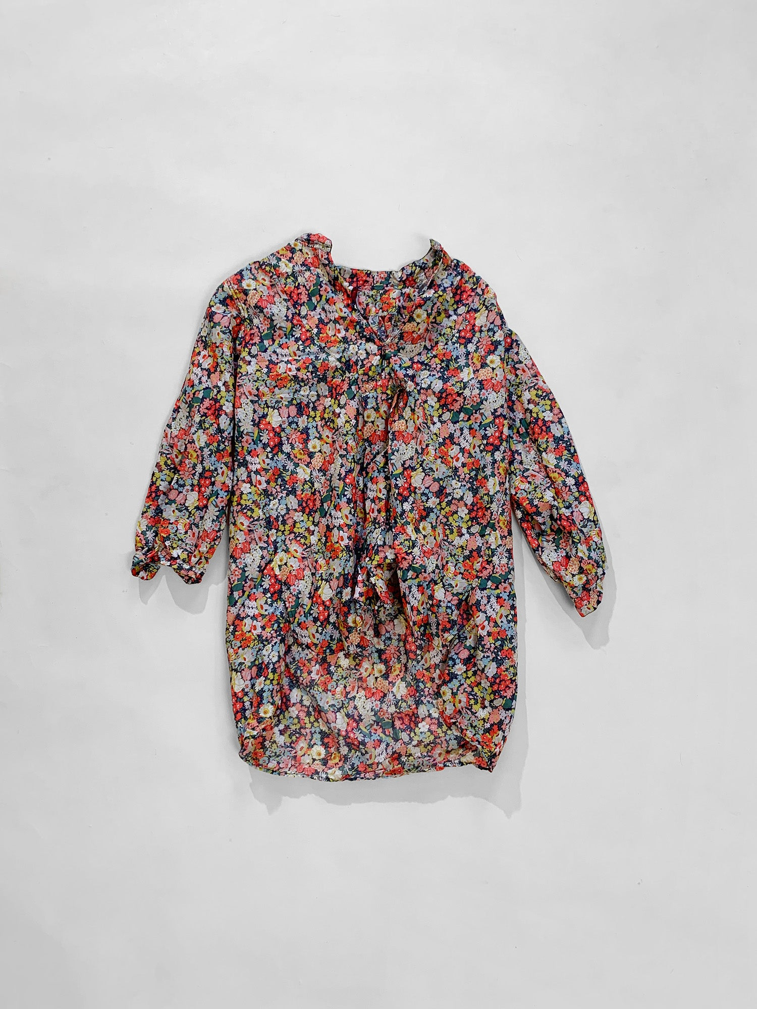 washed shirt - floral