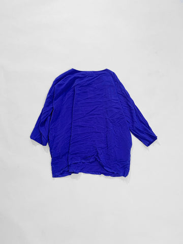 washed silk top daniela gregis
