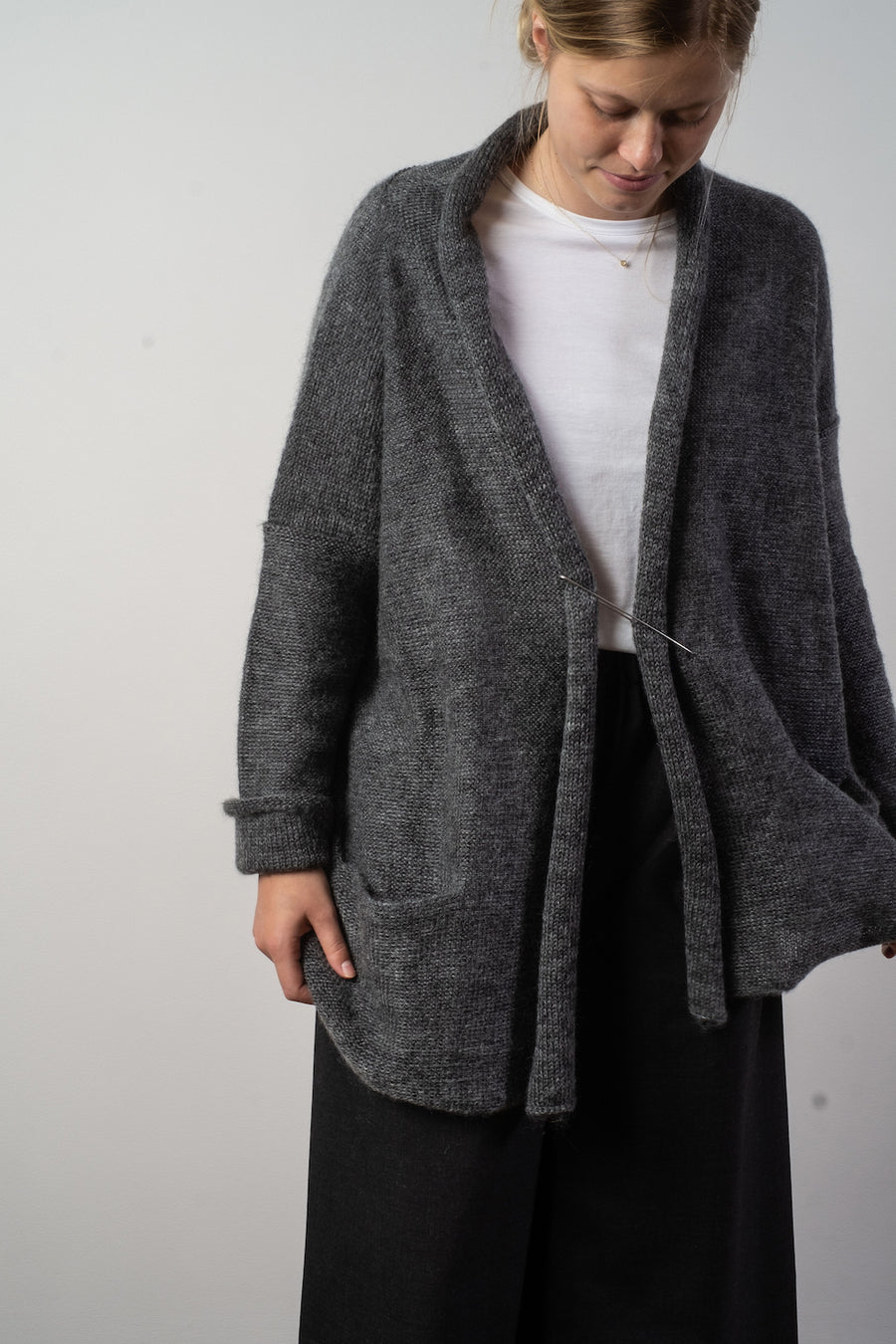 lofty shawl cardigan