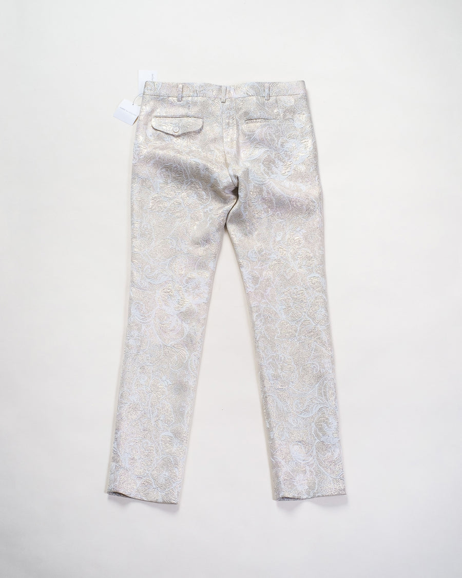 brocade ankle pant