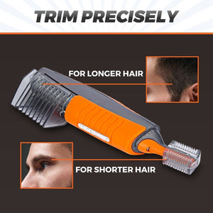 Last day promotion 50% OFF - Men All-in-One Hair Trimmer - Eyebrow Ear Nose Removal Clipper Shaver Unisex Personal Electric Face Trimer - 5econds.co