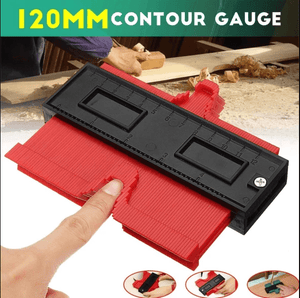 SHAPE CONTOUR GAUGE DUPLICATOR (2020 Upgraded) Professional Multifunctional Woodworking Profile Tool - 5econds.co