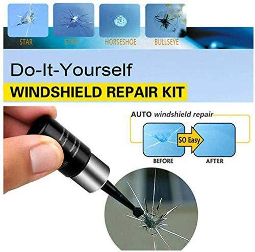Automotive glass nano repair fluid - Car Windshield Repair Tool Fluid Kit Auto Crack Chip Resin Scratch Remover